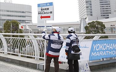 【2015】駅会場間誘導の様子